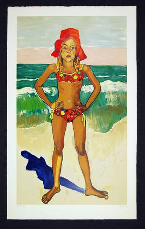bather by alice neel