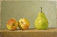 two peaches and a pear—not for sale by robert kulicke