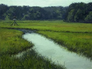 hammonasset marsh by edward martinez