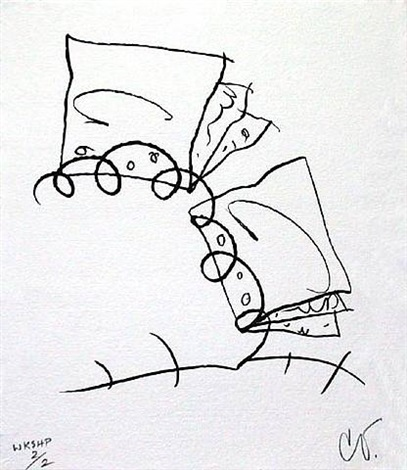 torn notebook, state ii by claes oldenburg