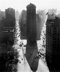 flat iron in summer by rudy burckhardt