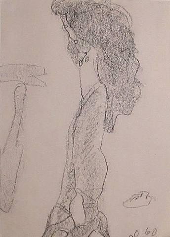 dancer by claes oldenburg