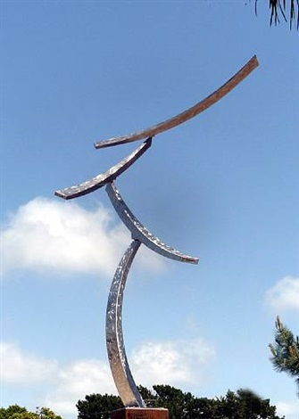 qishi kinetic sculpture by jeffery laudenslager