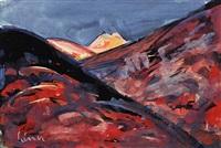 gelber berg by carl walter liner