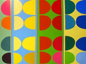 artwork 1971 by sir terry frost
