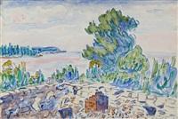 new england landscape by allen tucker