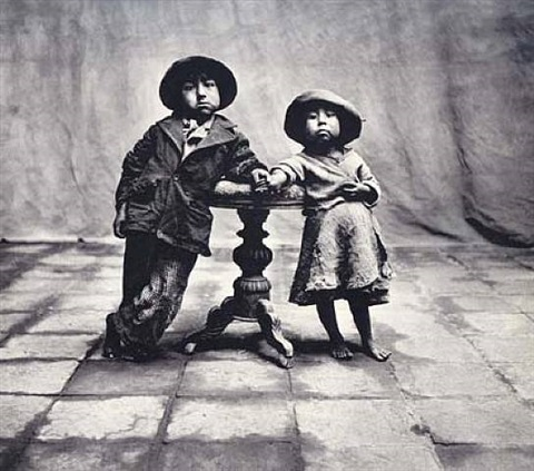 cuzco children, peru by irving penn