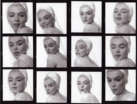 in the white veiled cloche-the last sitting by bert stern
