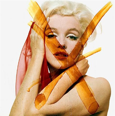 marilyn double x by bert stern