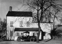 farmhouse, westchester county, n.y. by walker evans