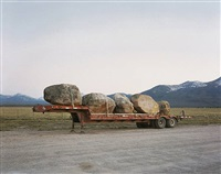 rocks from sawtooth national forest for landscaping in sun valley, pettit lake road, blaine county, idaho by laura mcphee