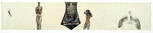 female symbols by nancy spero