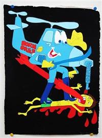 born free cavalry (born free chopper) by todd james
