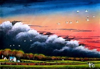 storm front - fly way by william dunlap