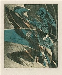 jeux d'eau by stanley william hayter
