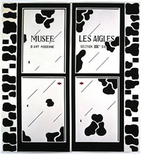 les portes by marcel broodthaers