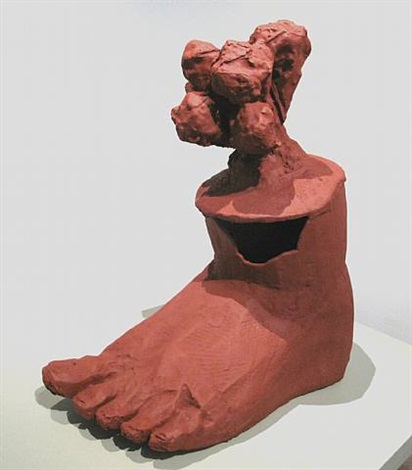 foot and blob, equivalency series by michael rees