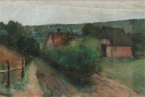 landscape by lesser ury