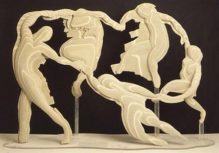 maquette for la dance by larry rivers