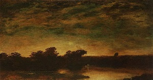 sunset by ralph albert blakelock