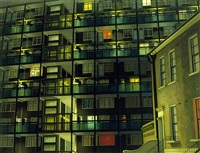 camberwell flats by night by david hepher