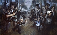 road to zenica by peter howson