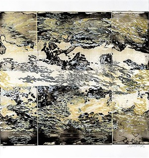 atmospheres in gold i by soledad salame