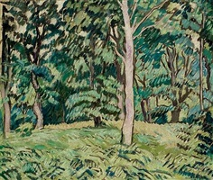 sous-bois au printemps by louis valtat