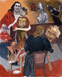 the dolls' playground by paula rego