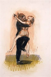 small rape by paula rego