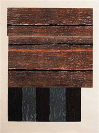 standing ii by sean scully