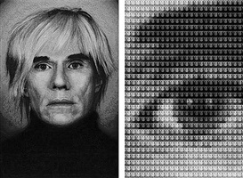 warhol vs. mao, after mapplethorpe by alex guofeng cao