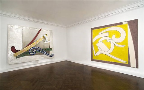 installation views by frank stella