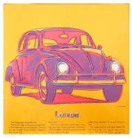 ads: volkswagen by andy warhol