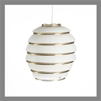 ceiling lamp. beehive a332 by alvar aalto