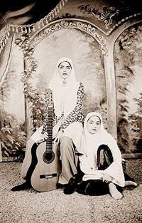 qajar (guitar) #26 by shadi ghadirian