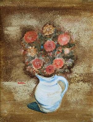 flower still life by jankel adler