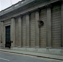 a run on the bank. 5b, 42ft.**, bank of england by alex hartley