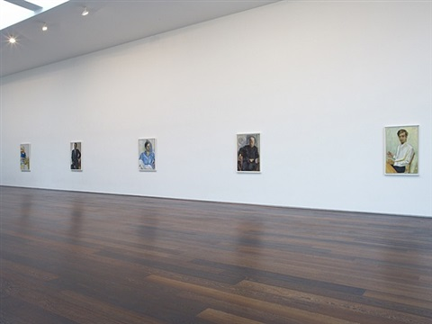 installation view, alice neel, 'men only', june - july, 2011 by alice neel
