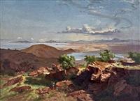 valle de méxico desde el cerro de santa isabel (sold) by josé maría velasco