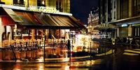 rain in paris by david drebin