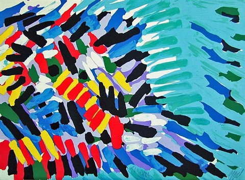 in colors by karel appel