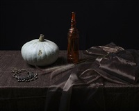 still life with pumpkin by justine reyes