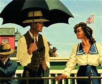 summertime blues by jack vettriano