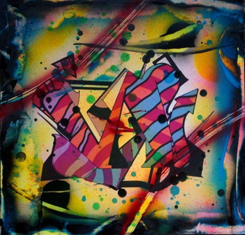 letter n wildstyle by rammellzee