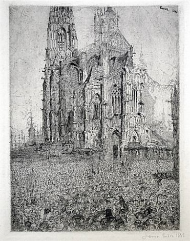 the cathedral by james ensor