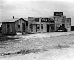 the purple sage tavern, george west, texas by carl mydans