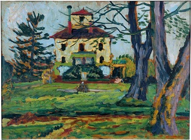 landhaus mariahalde bei rorschach by gabriele münter
