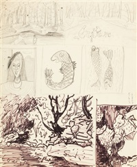 seven sketches by milton avery