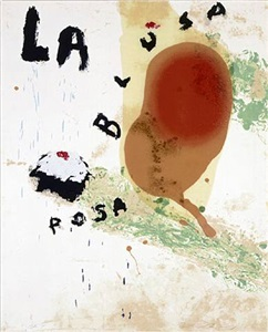 sexual spring-like winter series, la blusa rosa ii by julian schnabel